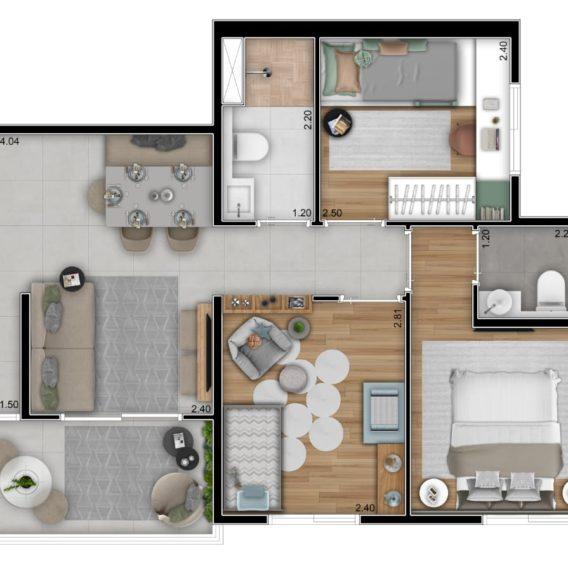 3 Dorms